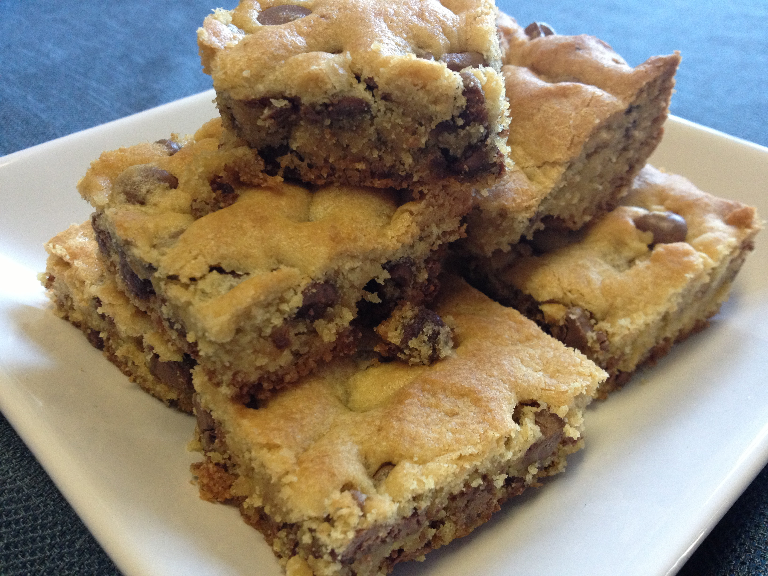 Chocolate Chip Cookie Bars |