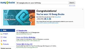 Swagbucks earned