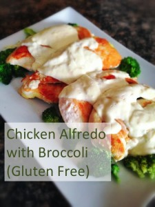 Chicken Alfredo with Broccoli (Gluten Free)