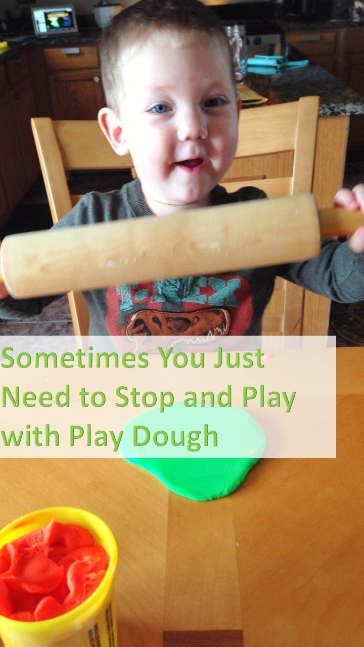 Sometimes You Just Need to stop and play with play dough