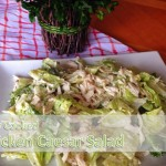Chicken Caesar Salad - 5 ingredient meal from An Everyday Blessing