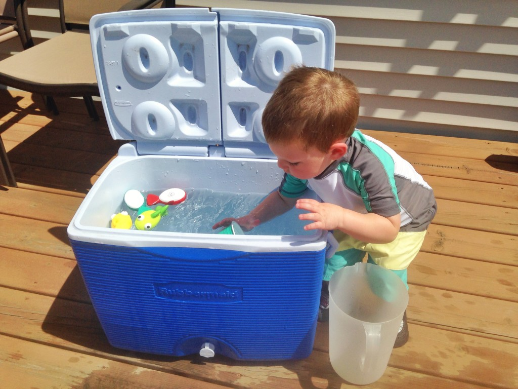 Keeping Toddlers Busy this Summer